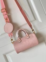 LVLOUISBAGVITTONLV Hc1u M45707 Papillon Shape Carryall Strap Embossed Round Detachable Fashion Leather With Womens Coin Purse Egdi