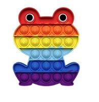 プッシュバブルセンサーフィデットおもちゃアイスクリーム人魚ストラビェリースキシーギジャックストレスリリーバーおもちゃ子供アンチストレスリバイバーQ191