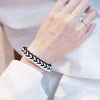 bracelet Mori literature and art cotton hemp knitting h rope simple small fresh for men women