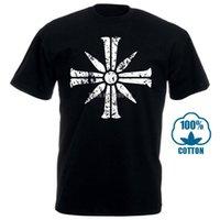 Крест-знак от Far Cry 5 T Футболки Фитнес Стильное здание для мужчин o Шеи Улица Досуг Anlarach Custom