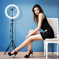 30 cm / 12inch LED Selfie Anel Luz Dimmable Lâmpada Vídeo Câmera Telefone para Maquiagem Beleza Viva Youtube Encher tiras