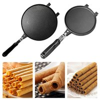 Egg Roll Machine Accessories Crispy Eggs Omelet Mold Ice Cream Cone Maker Parts Baking Pan For Waffle Cake Bakeware Tools Moulds