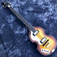 Lefty Hofner BB2 Bass Guitar Violin Body STYLE IZQUIERDO MANO-TOPT CALIDAD HCT BAJO Diseñado en alemán