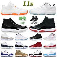 nike air jordan retro 11 11s Scarpe da basket 11s High 25th Anniversary Low Legend Blue Citrus Jumpman 11 Concord Bred Space Jam Uomo Donna Sneakers da esterno Sneakers US 13