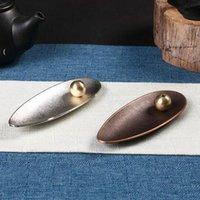 Metall Weihrauchbrenner Stick Halter Buddhismus Line Räucherteller Tempel Yoga Studios Home Decoration Großhandel NHF6840