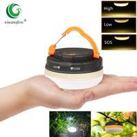 Супер яркий мини портативный кемпинг фонарик ночной свет 3W 3 режима водонепроницаемый светодиодный кемпинг лампы на открытом воздухе