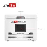 Attrezzo elettrico Imposta Jiutu Tutto in una macchina per laminazione sottovuoto con debubble per schermo piatto anteriore anteriore LCD in vetro restaurizzato sotto 13 pollici