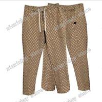 21SS uomini jeans pantaloni designer denim lettere jogging pant casual slim fit integrale pantaloni pantaloni da sposa