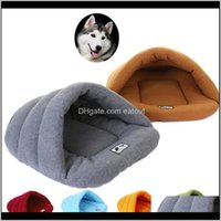 Kennels Pens Supplies Home & Gardenwarm Soft Polar Fleece Dog Winter Warm Pet Heated Mat Slippers Beds Kennel House For Cats Sleeping Bag Ne