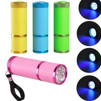 Mini UV Led Lamp Dryer for Gel Nails Flashlight Portability Machine Nail Art Tools GWA7632