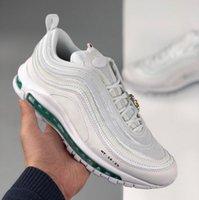 Herren 97 Laufschuhe Chaussures de Kurs Hommes Jésus Triple Noir Bullet Bleu Blanc Argent 97s USA Formateure Invailcu Bred Royal Game Sneakers Womens