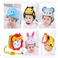 Baby children Infant Protective Cotton Head Protection Soft Hat Helmet Anti-collision Security Safety Sport baby caps 4667 Q2