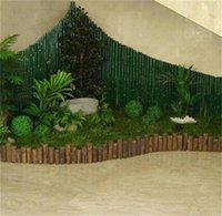 Nuevo 12-40 cm Ballas de topiares de césped artificial fuera / Bola colgante de interior para la fiesta de bodas DIY Hotel Home Yard Decoración de jardín 531 V2