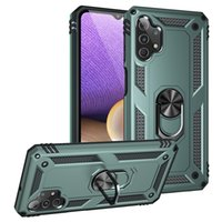 Custodie del telefono Kackstand antiurto per Samsung Galaxy A82 A72 A52 A32 A22 4G 5G A12 A02S A02 A71 A51 A31 A21 A21S A11 A01 A20S A10S A30S