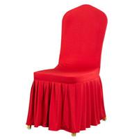 Stoelhoezen Aankomststoel Comfortabele rimpelbestendige spandex kap verwijderbare stretch eetkamer banket
