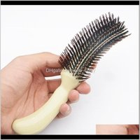 Accessories Tools Products Drop Delivery 2021 Zhifan Brushes Sale Hair Brush Comb S Shape Hairbrush Sets For Hairstyle Makeup Fluffy Bulk Diw