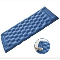 Outdoor Pads Foot Inflatable Cushion, Camping Bed, Nylon Material Beach Mat, Office Nap Thick Tent Mat