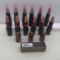 60pcs Nude Shade 12Color Rossetto Velvet Teddy Myth Honey Love Please Me Matte 3G Mocha Whirl Colore con odore dolce