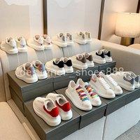 2021 En Kaliteli Erkek Bayan Deri Rahat Ayakkabılar Lace Up Konfor Güzel erkek Eğitmenler Günlük Yaşam Tarzı Kaykay Ayakkabı Boyutu EUR35-45