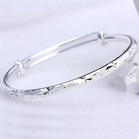 NEHZY 925 sterling silver woman woman The new fashion jewelry bracelet beautiful sliding Bangles stars retro 2303 Q2
