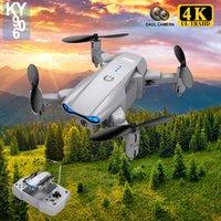 2021 NUEVO KY906 DRONE 4K HD Daul Cámara FPV RC Quadcopter Tiempo de vuelo 15 minutos Helicóptero Drones profesionales Juguetes para niños