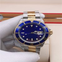 Hot Selling BP Vintage Mens Wristwatches 40 mm Alloy Bezel Two Tone Gold Asia 2813 Movement Automatic Mens Watch Watches 68
