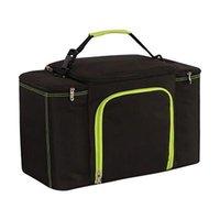 야외 가방 겨울 점심 가방 자동차 대용량 방수 알루미늄 호일 쿨러 절연 열 지퍼 피크닉 박스 컨테이너 핸드백