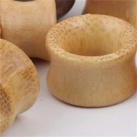 الخيزران الخشب اللحم نفق الأذن التوصيل المتوسع ثقب الأذن مقياس 8-20 ملليمتر 70 قطع مزدوجة اندلع سرج eparetes مجوهرات الجسم 882 R2