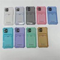 Crsytal 클리어 소프트 TPU 충격 방지 케이스 아이폰 12 11 Pro Max XR A42 A52 A72 에어백 4 코너 투명한 전화 뒷면 커버 피부