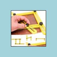 Inne pomiar pomiaru Instrumenty Office School Business IndutrassRer Zestaw Narzędzie Ręczne Praktyczne Cztery Składane Plastikowe Metryczne SC