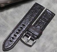 Reloj Bandas Hecho a mano Relojes PREMIUM COMOTIGADOR Strap de cuero 22 mm Patrón de bambú Pulsera personalizada genuina Pulsera Retro