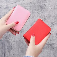 PU Leather Women Wallet ID Credit Card Holder Wallets Female Small Coin Purse Women Money Bag Mini Wallet Card Bag for Ladies