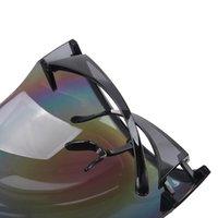 Наружные очки 1 шт. Красочные спортивные очки оттенок отделочные УФ-защита Путешествия Езда Большие рамы Лобовое стекло Поляризованные солнцезащитные очки