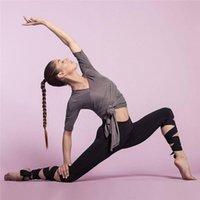 Yoga Outfits Kezrea Women's Wrap Pants High Waist Fitness Banding Bottom Casual Sports