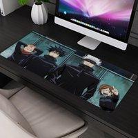 Podkładki podkładkowe na nadgarstki Anime Jujutsu Kaisen Large Gaming Pad Duża rozszerzona mata komputerowa Gra Mousepad Gamer Biuro biurowe Keyboard