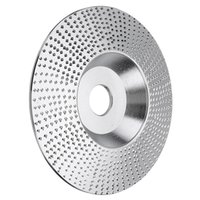 Hand & Power Tool Accessories 4 Inch Wood Grinding Wheel Rotary Disc Sanding Carving Abrasive Tools For Angle Grinder