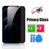 Premium Full Adhesive Privacy Tempered Glass Film Screen Protector For iPhone 12 Mini 12Pro 11 Pro Max 11Pro XS X XR 8 7 6 Plus Factory Price