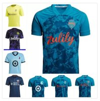 Parley PrimeBlue MLS DC United Fussball Jerseys 21 22 LAFC Inter Miami Atlanta La Galaxy York Montreal Columbus Jersey Seattle Sounders Kansas