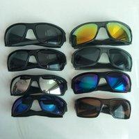 Hombres de verano que conducen gafas de sol deportes gafas gafas de gafas Marca de la marca Bicicleta Gafas de sol Dazzle Color 8 Color