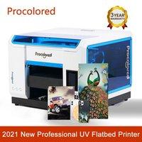 ProcatoLored 2021 stampante a flatbed A3 stampatrice professionale per cassa del telefono T-shirt per bottiglia acrilico in legno DTG Stampanti stampatori