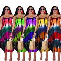 womens one piece dresses summer sleeveless loose dress mid calf high quality slim elegant luxury clubwear women clothing S M  L XL XXL C9388