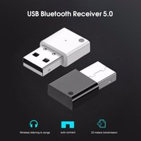 Mini Wireless USB Bluetooth 5.0 Adapter For Car Radio Subwoofer Amplifier Multimedia Audio Adapter Bluetooth Receiver