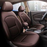 Personalizza la copertura del sedile dell'automobile dell'automobile per Hyundai IX35 PU in pelle PU Parte anteriore Set completo Impermeabile Impermeabile Personalizzato 5 posti auto Protector set