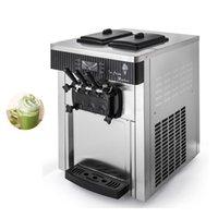 High Production Soft Ice Cream Makers Machine Commercial Desktop Vending