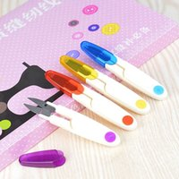 Scissors Tools Household Handy Mini Small Sewing Scissors Embroidery Sewing Tool Cross Stitch Craft T2I52755
