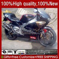 Corpo de motocicleta para Aprilia RS-250 RS RS250 RS RS250R 95 96 97 24no.161 RSV-250 RSV250R RSV250 1995-1997 RSV250RR RS250RR 1995 1996 1997