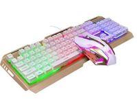 Gaming Keyboard Mouse Combo 3200DPI Impermeabile RGB Colore cambio illuminato PC computer retroilluminato tastiere USB per Prime Xbox One PS4 Gamer Gamer
