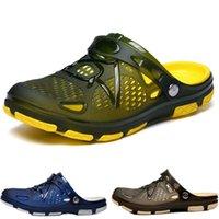 Hombres Slip on Garden Mules Zapatos Zapatos Sandalias Deportes Sandalias Playa Agua Zapatillas Nursing Zapato Casual
