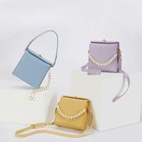 30 Canvas Bag Flap MONTAIGNE Jacquard Pouch On WOC Crossbody Oblique Wallet Designer Messenger OBLIQUE Blue Purse Lady Mini Chain HandB Neqc