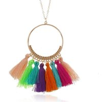 necklace for women tassel long sweater necklace pendant wholesale necklace hot fahsion free of shipping